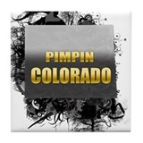 Pimpin' Colorado Tile Coaster