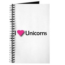 I LUV UNICORNS Journal