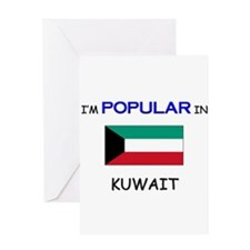I'm Popular In KUWAIT Greeting Card