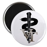 "Veterinary Tech 2.25"" Magnet (10 pack)"