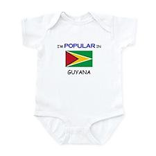 I'm Popular In GUYANA Infant Bodysuit