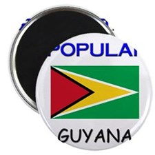 "I'm Popular In GUYANA 2.25"" Magnet (10 pack)"
