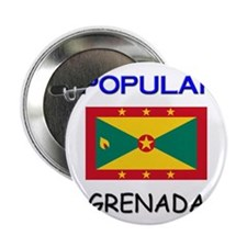 "I'm Popular In GRENADA 2.25"" Button"