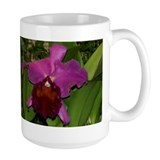 Deep Purple Orchid Mug