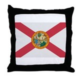 Beloved Florida Flag Modern S Throw Pillow
