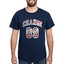 Obama Change 09 T-Shirt