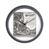 """1946 Whizzer Ad"" Wall Clock"