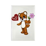 I Love You Teddy Magnet (100 pack)