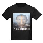 Help Obama Kids Dark T-Shirt
