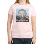 Help Obama Women's Light T-Shirt