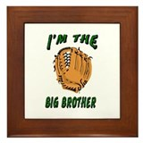 I'm the big brother Framed Tile