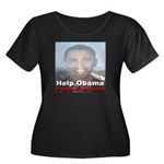 Help Obama Help America Women's Plus Size Scoop Ne