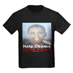 Help Obama Help America Kids Dark T-Shirt