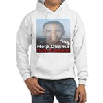Help Obama Help America Hooded Sweatshirt