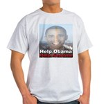 Help Obama Help America Light T-Shirt
