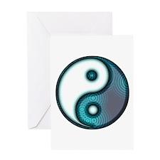 Tai Chi Tu Greeting Card