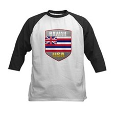 Hawaii USA Crest Tee