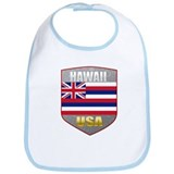 Hawaii USA Crest Bib