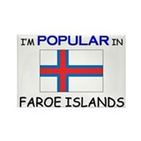 I'm Popular In FAROE ISLANDS Rectangle Magnet