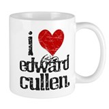 I Love Edward Cullen Small Mug