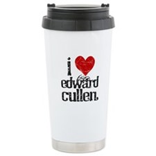 I Love Edward Cullen Ceramic Travel Mug