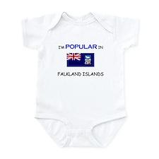 I'm Popular In FALKLAND ISLANDS Infant Bodysuit