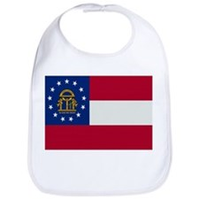 Beloved Georgia Flag Modern S Bib