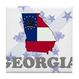 All Star Georgia Tile Coaster