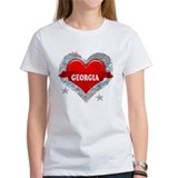 My Heart Georgia Vector Style Tee