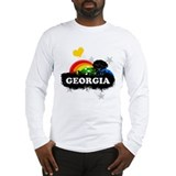 Sweet Fruity Georgia Long Sleeve T-Shirt