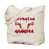 Georgian Gangsta Tote Bag