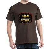 Guam Star Gold Badge Seal T-Shirt