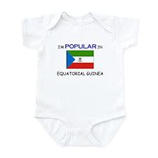 I'm Popular In EQUATORIAL GUINEA Infant Bodysuit
