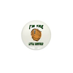 I'm the big brother baseball Mini Button (10 pack)