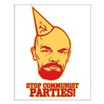 Stop Communist Parties! Small Poster