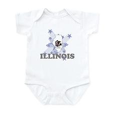 All Star Illinois Infant Bodysuit