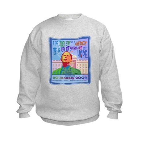 Obama Inauguration Kids Sweatshirt