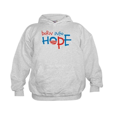 Born Into Hope - Obama Baby Kids Hoodie