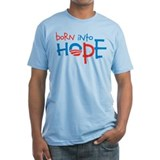 Born Into Hope - Obama Baby Shirt
