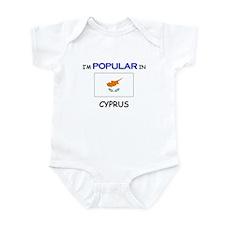 I'm Popular In CYPRUS Infant Bodysuit