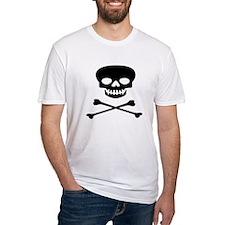 Black Skull and Crossbones Shirt