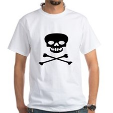 Black Skull and Crossbones Shirt