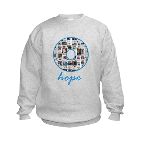 O Hope Headlines Kids Sweatshirt