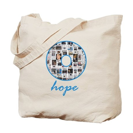 O Hope Headlines Tote Bag