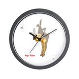 Unique Girl Wall Clock