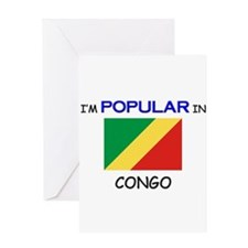 I'm Popular In CONGO Greeting Card
