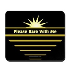 Please Bare - Mousepad