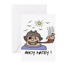 Ahoy Matey! Greeting Cards (Pk of 10)