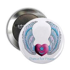 """Dance for Peace 2.25"""" Button"""