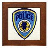 South Lake Tahoe PD Framed Tile
